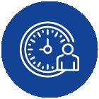 Icon Flexible Arbeitszeiten active