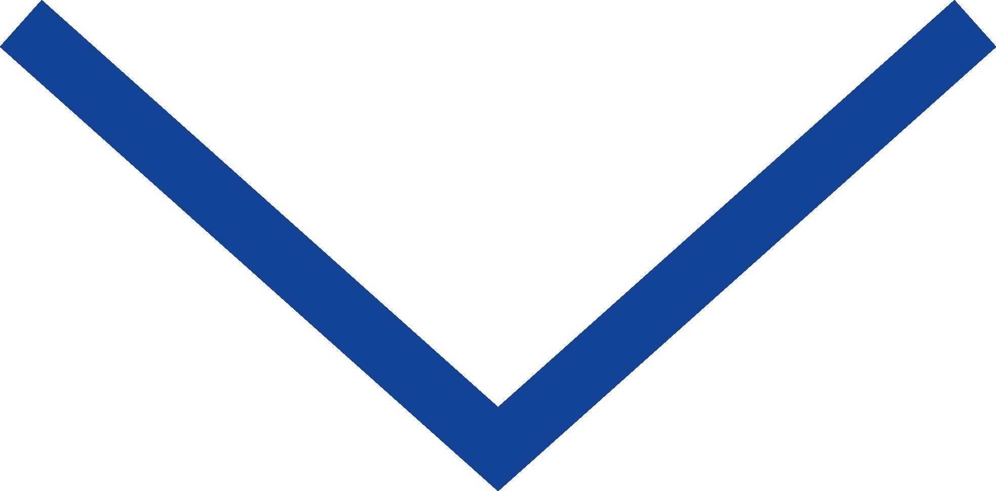 Icon Arrow Down Blue